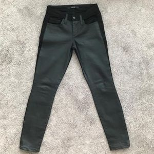 Joe's black double sided Polly style jeans.